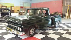 1961 Chevrolet Apache Short Bed Stepside Pickup