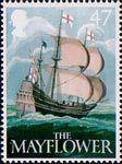 British Pub Signs 47p Stamp (2003) 'The Mayflower' (Ralph Ellis)