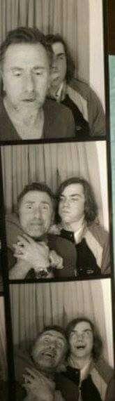 Tim Roth & Son Cormac