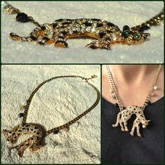 collar leopardo cartier vintage