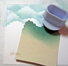 DIY cloud stamp