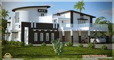 beautiful modern simple indian house design sq ft unique architecture house design interior design ideas home design