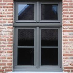 House Doors, House Windows, House Entrance, Victorian Front Garden, Bungalow Extensions, Brick Design, Front Door Colors, Casement Windows, House Landscape