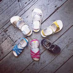 Hello Salt-Water Sandal Season. Come rain or shine, once you put these puppies on there'll be no taking them off. Time for a trip to happy nails me thinks. In-store and online at Gentlyelephant.co.uk #sunsansaltwatersandals #prettysandals