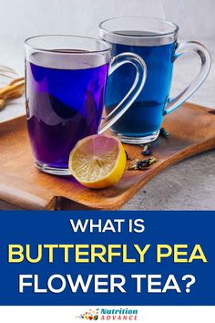 Butterfly pea flower tea is the most unique looking tea in the world. Here is a full guide to this exciting drink and its potential benefits. Lemon Benefits, Health Benefits, Tea Benefits, Health Tips, Butterfly Pea Flower Tea, Blue Butterfly, Tea Varieties, Green Tea Latte, Tea Recipes