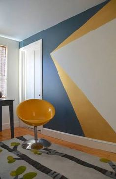 Image result for geometric wall paint designs