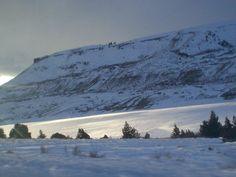 Completely frozen, Blue Mesa Lake in Co. at sunset. Stunningly beautiful.