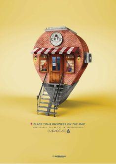 Лучший дизайн рекламного макета {The best print ad design}