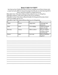 Romeo And Juliet Essay Prompts  Writing Service  Palmettee Romeo And Juliet Essay Prompts