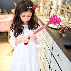 Snow embroidered dress (infant/toddler/girl) - Bunny n Bloom-Dress Designer Brand Girls Easter Dresses, Flower Girl Dresses, Summer Dresses, Snow Dress, Scoop Neck Dress, Burgundy Dress, Girl Model, Boutique Dresses, Mommy And Me