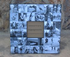 Collage Engagement Picture Frame