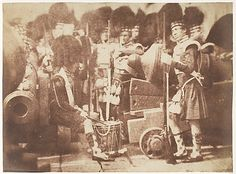 The 42nd Gordon Highlanders, Edinburgh Castle  1843-1847