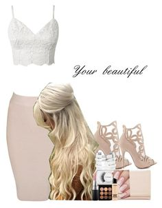 """""""Your beautiful"""" by aatkins ❤ liked on Polyvore featuring Posh Girl, Chinese Laundry, ASOS, Forever 21 and MAC Cosmetics"""