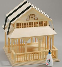DIY GABLED ROOF VICTORIAN STYLE BIRDHOUSE:  selbst.de FREE PLANS, PICTORIAL ON ASSEMBLY, AND FINISHING.  Site is in German but Google does a wonderful job in translation of plans, instructions and tutorials.  This is an absolute gorgeous birdhouse-feeder that neighbors will be envious of!  Beautiful....saved the finished picture for you to look at for yourself.  Birdhouses similar to this one sell in open air markets for 3500.00 or more!!!
