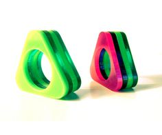 plxC :: plexiglass rings by Sarolta Krajcsi, via Behance