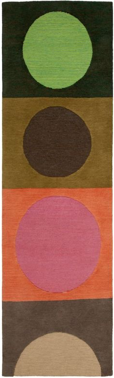 Doug and Gene Meyer rug CORAL SUNSET - from our latest group of designs.