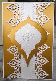 Gold and White Christmas - Scrapbook.com