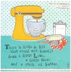 I think I will bake a lot when I retire.