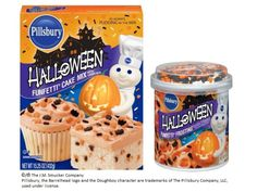 Halloween Funfetti Cake Mix, Pillsbury, General Mills, Inc. One General Mills Boulevard Golden Valley, Minnesota, U.S. and the J.M. Smucker Company, Orrville, Ohio, United States.
