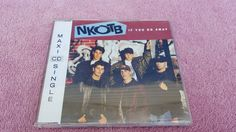 NEW KIDS ON THE BLOCK (NKOTB) If You Go Away Maxi  CD Single