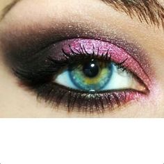 Fierce eye shadow