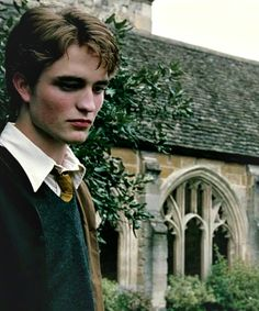 The moment when you realize that Cedric Diggory is Robert pattinson.. @Lainee Norton