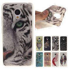 Pas cher Tigre de Bande Dessinée Silicone TPU Souple En Plastique Phone Case…