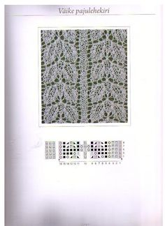 PUNTOS-CALADO-A-DOS-AGUJAS Knitting Charts, Lace Knitting, Knitting Stitches, Knitting Patterns, Sewing Patterns, Crochet Patterns, Crochet Quilt, Knit Or Crochet, Lace Patterns