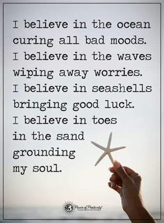 Amen to this! The beach is truly my happy place. Life Quotes Love, Quotes To Live By, Me Quotes, Motivational Quotes, Inspirational Quotes, Crush Quotes, Happy Place Quotes, Bad Mood Quotes, Ocean Quotes