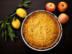 Tarte pommes râpées citron au Thermomix