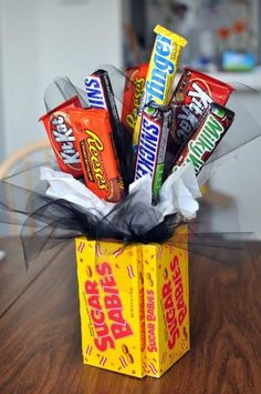 Gift A Candy Bouquet