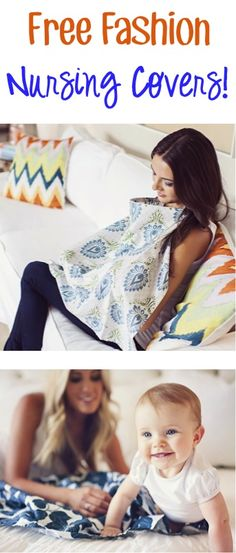 FREE Fashion Nursing Covers! {just pay s/h} ~ these make the BEST Baby Shower Gifts for new moms!