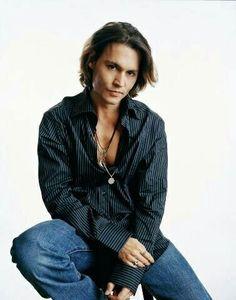 Johnny Depp  Looking Damn Still Even In His 50's ..