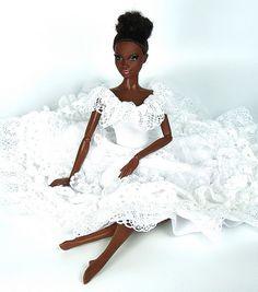 Alvin Ailey Barbie by DivaLuvv, via Flickr