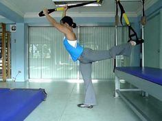 TRX Ballet Stretches