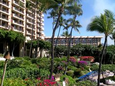 Hyatt Regency Maui Hotel on Kaanapali Beach from Jon's Maui Info www.mauihawaii.org