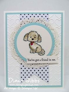Bella & Friends Diana Gibbs Stampin' Up! www.stampingwithdi.com