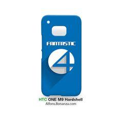 Fantastic Four Logo Superhero HTC One M9 Hardshell