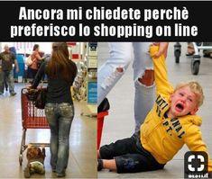 Online shopping via Top Funny, Hilarious, Tumblr, Funny Scenes, Kid Memes, Clash Royale, Sarcasm Humor, Bad Timing, Funny Pins