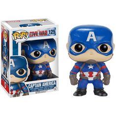 Figurine Pop! Captain America Civil War Captain America