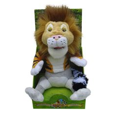 A part of the award-winning Anagranimals soft toys range, the Leo-Tigga-Mur Soft Toy combines a lion, tiger and lemur to create Lancelot the King of the Jungle!