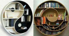étagères murales design, étagères rondes intéressantes