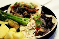 Carnitas tacos with