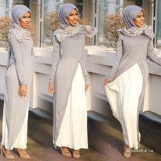 Уличная мода: Модный блоггер Basma Kahie: мусульманская мода в деталях