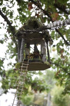 Faerie Houses at the Florence Griswold Museum by Florence Griswold Museum, via Flickr