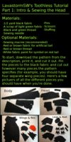 Toothless Tutorial Part 1 by LavastormSW