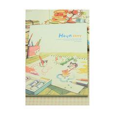 Quaderno illustrato - Hoya Story gattini che dipingono