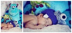 Monsters Inc Baby Photography- A Story in Time Photography