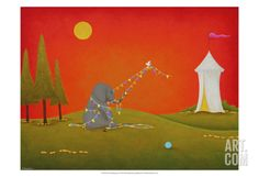The Predicament Print by Shari Beaubien at Art.com
