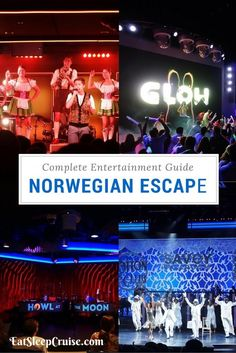 Norwegian Escape Entertainment Guide